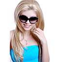 Lace Front Extra Long Synthetic Light Blonde Straight Hair Wig