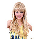 Long European Weave Light Blonde Hair Wig