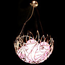 Modern/Contemporary / Bowl Crystal / Bulb Included Chandeliers / Pendant Lights Living Room / Bedroom / Dining Room