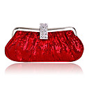 PU Shell With Austria Rhinestone/ Beading Evening Handbags/ Clutches More Colors Available