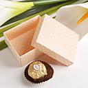roze voordeel doos met polka dots (set van 12)