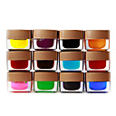 12 glassa colorata gel nail art 8ml