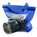 Høj kvalitet DSLR SLR kamera vandtæt taske til undervandsfotografering(Blå)