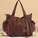 Ladies' Double Sided Faux Leather Handbag