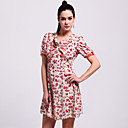 TS Sea Fun Print Slimming Dress