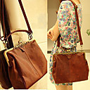 Classic Ladies' PU Crossbody/Tote Bag