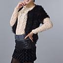 Korte mouwen Avond / Carrière Hoge kwaliteit Faux Fur Veat