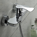 Sprinkle® - par LightInTheBox - contemporain en laiton massif finition chromée robinet de douche