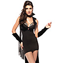 Women's Sexy Black Night Vampire Halloween Costumes
