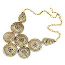 Vintage Hollow-Out Buds Alloy Necklace