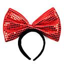 Red Color Cute Big Bow Halloween Headband (1 piece)