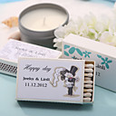 Wedding Décor Personalized Matchboxes - Bride & Groom (Set of 12)