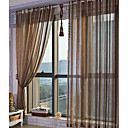 Kent Traditional Sheer Curtain (Two Panels)