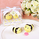 Mommy and Me...Sweet As Can Bee Ceramic Honeybee Salt & Pepper Shakers