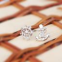 sguardo marina elaborato set di argento 925 Orecchini
