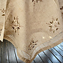 Ensemble de 4 serviettes de table Linge Floral Beige