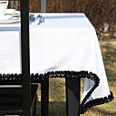 Black Lace hvit farge duk