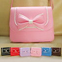 Handmade Mini PU Leather Sweet Lolita Bag with Bow