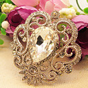 Women's Royal Big Diamond Brooch
