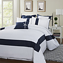 Simple&Opulence® 3-Piece Splice Stripe 300TC Duvet Cover Set
