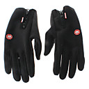 Black Warm-keeping Cycling Gloves/Fishing Gloves