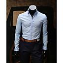 Mannen Hemdkraag Fashion shirt met lange mouwen