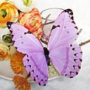 Hochzeitsdekor schönen lila Kunststoff Schmetterling (set of 6)