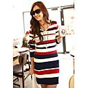 SZGood Colorful Stripe Bodycon Dress