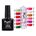 1PCS Soak-off UV Color Gel No.61-No.72 (10 ml, assorterede farver)