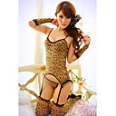 Sexy Leopard Six Pieces Nightwear