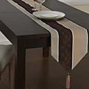 Classique linge multicolores Chemins de table à rayures