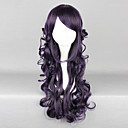 Duchess Black Plum 70cm Gothic Lolita Curly Wig