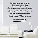Life Goes Wall Sticker