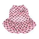 Dog Dress Pink Summer Bowknot