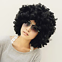 Holiday Party 35cm Musta Afro Wig