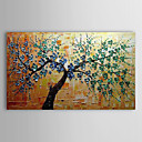 Oil Painting Floral Tree with Stretched Frame 1311-FL1144 Hand-Painted Canvas
