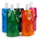 ulkoilmaurheiluun kannettava taittuva vettä laukku sarjakuva vesipullo koukulla haltijan 16oz (480ml) 20kpl / paljon
