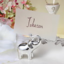 Place Cards and Holders Silver Calf Elephant Place Card Holder-Set of 4