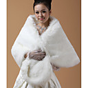 Long Sleeve Faux Fur Wedding/Party/Casual Shawls