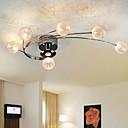 ampoules de la vie moderne de lumière au plafond inclus 6 lumières