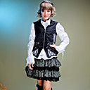 Sleeveless Black Cotton Punk Lolita Vest