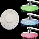 Chrome Finish Round 3 Colors Temperature-controlled LED Shower Head