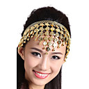 Performance Alloy with Coins Belly Dance Headpiece For Ladies