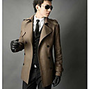 Mannen Slim Warm Trench Coat