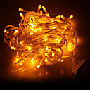 10M 100-LED della luce gialla LED Decorazione di Natale Luce della stringa (220V)