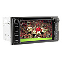 6.2Inch 2 Din Universal Car DVD Player for Toyota Before 2006 with 3G,WIFI,GPS,IPOD,RDS,BT,TV,Touch Screen