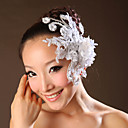 Women's Lace Headpiece-Wedding / Special Occasion Flowers As the Picture