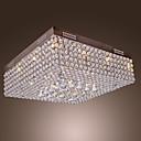 Con cuentas de cristal de techo de luz LED con 45 coloridos y 12 bases G4