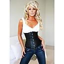 fermeture Busk faux avant du cuir et à lacets shapewear corset lingerie sexy shaper
