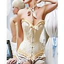 Chinlon Plastic Boning Corset Shapewear Sexy Lingerie Shaper